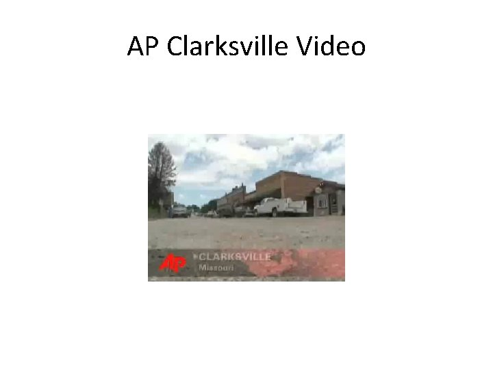 AP Clarksville Video