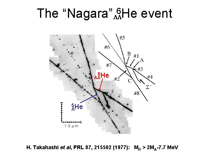 "The ""Nagara"" LL 6 He event 6 LLHe 5 He L H. Takahashi et"