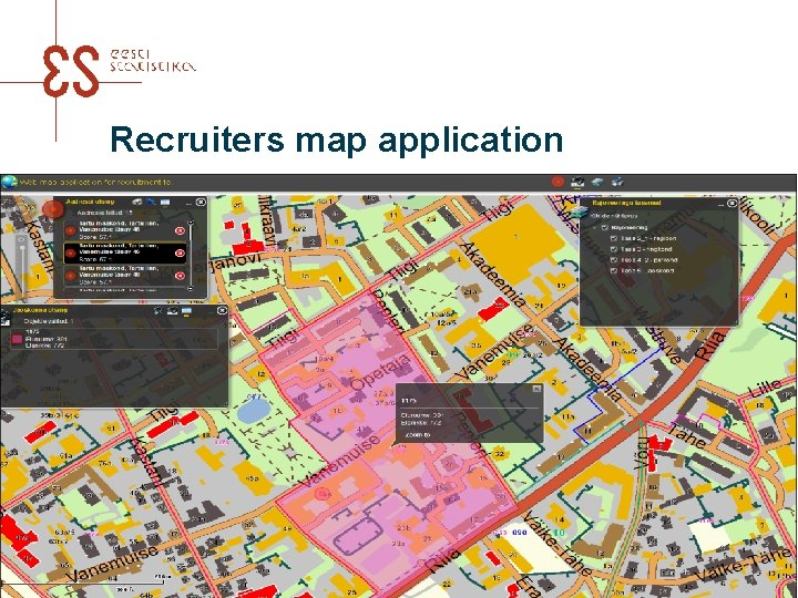 Recruiters map application UNECE meeting in Amman 2016