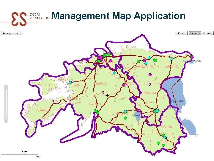 Management Map Application UNECE meeting in Amman 2016