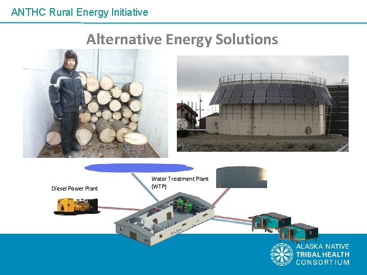 ANTHC Rural Energy Initiative Alternative Energy Solutions Diesel Power Plant Water Treatment Plant (WTP)