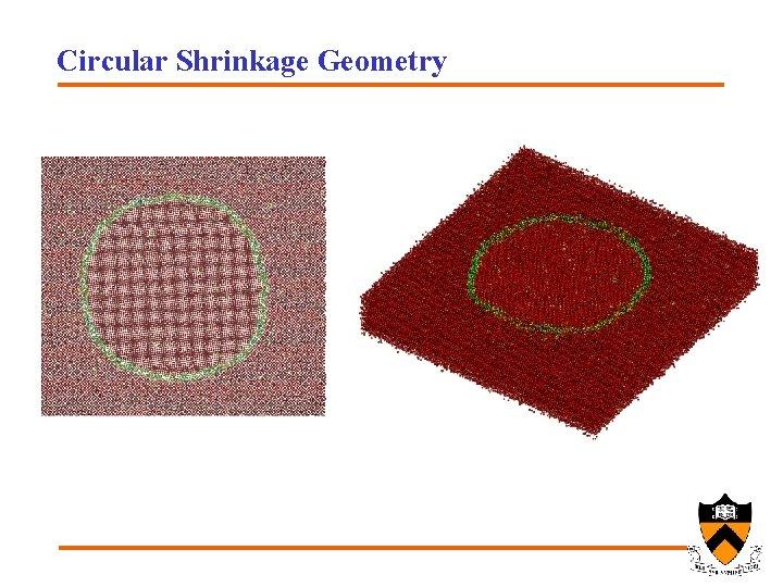 Circular Shrinkage Geometry