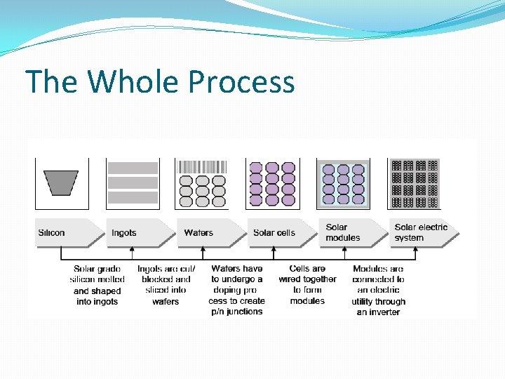 The Whole Process