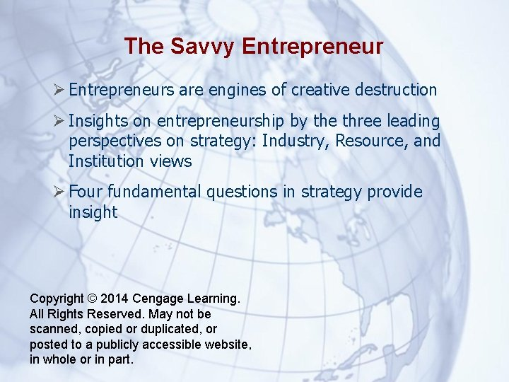 The Savvy Entrepreneurs are engines of creative destruction Insights on entrepreneurship by the three
