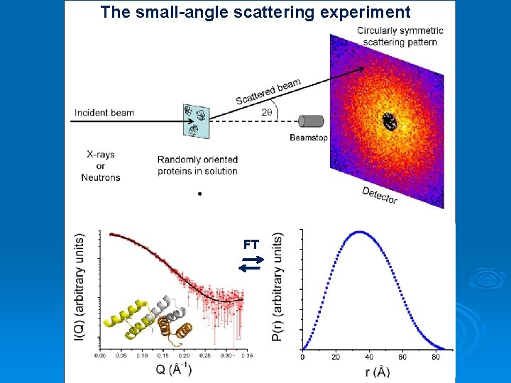 The small-angle scattering experiment FT