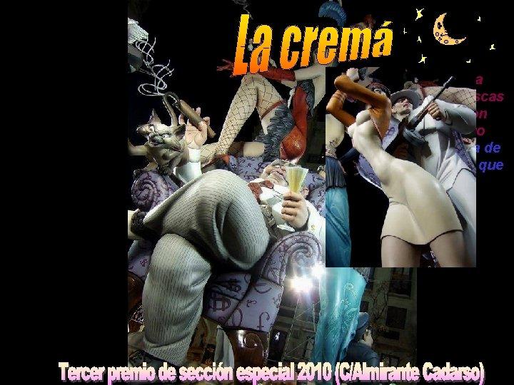 Valencia arde como tea purificadora, sus gigantescas esculturas artísticas son devoradas por un fuego