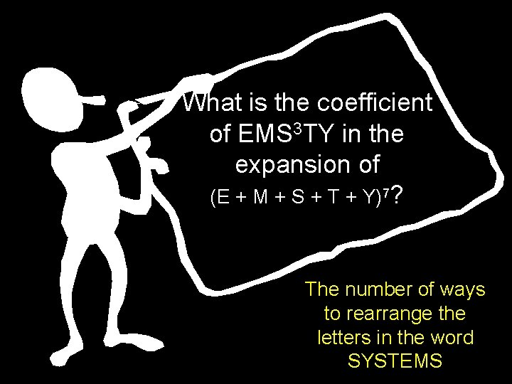 What is the coefficient of EMS 3 TY in the expansion of (E +