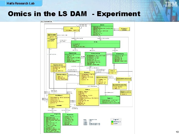 Haifa Research Lab Omics in the LS DAM - Experiment 10