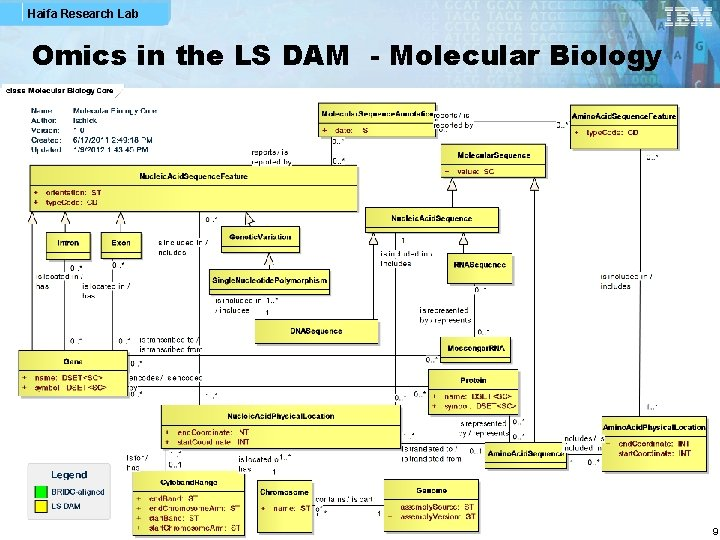Haifa Research Lab Omics in the LS DAM - Molecular Biology 9