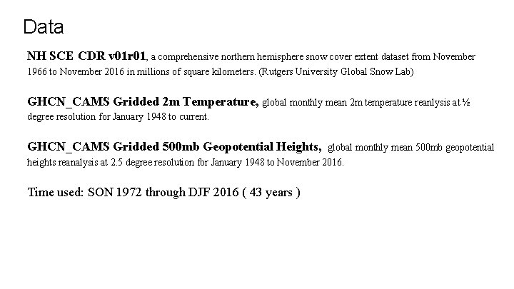 Data NH SCE CDR v 01 r 01, a comprehensive northern hemisphere snow cover