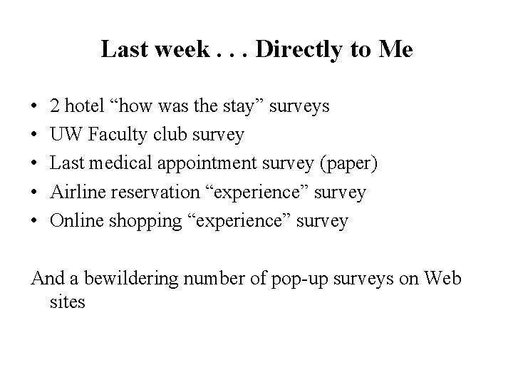 """Last week. . . Directly to Me • • • 2 hotel """"how was"""