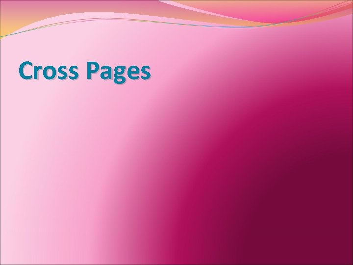 Cross Pages