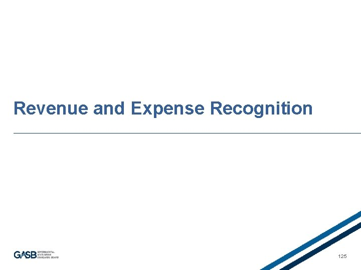 Revenue and Expense Recognition 125