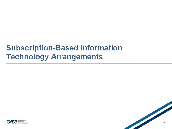 Subscription-Based Information Technology Arrangements 133