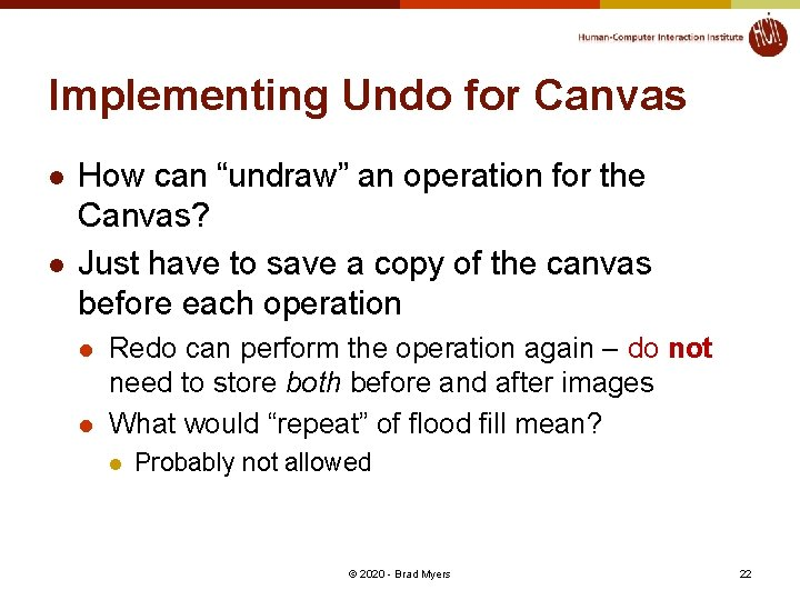 """Implementing Undo for Canvas l l How can """"undraw"""" an operation for the Canvas?"""