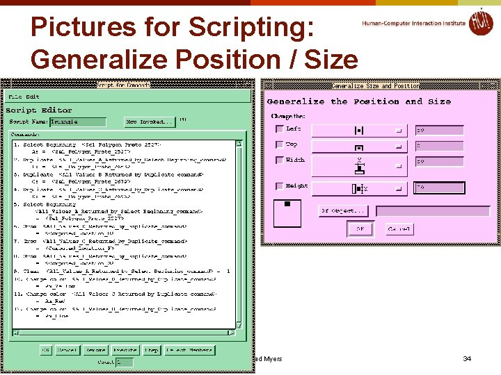 Pictures for Scripting: Generalize Position / Size © 2020 - Brad Myers 34