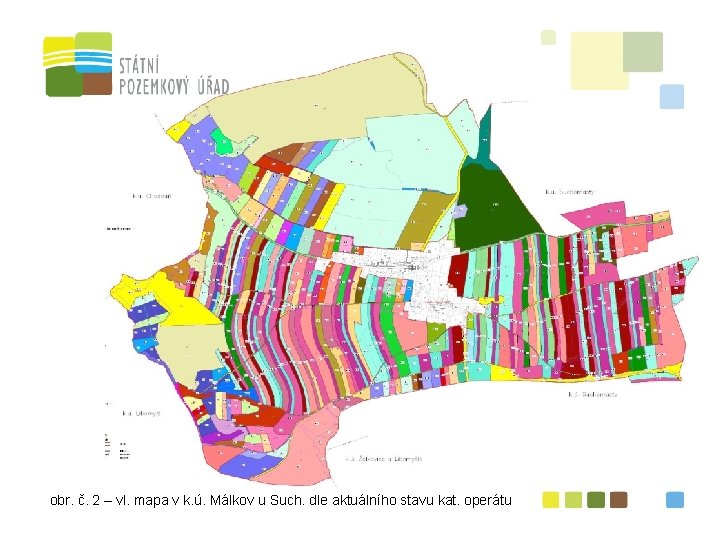 obr. č. 2 – vl. mapa v k. ú. Málkov u Such. dle aktuálního