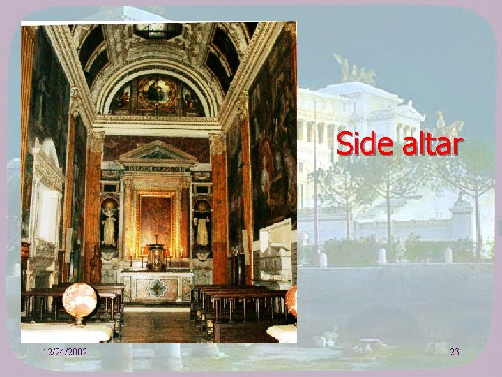 Side altar 12/24/2002 23