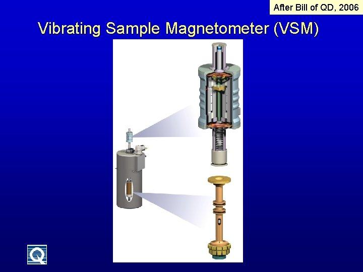 After Bill of QD, 2006 Vibrating Sample Magnetometer (VSM)