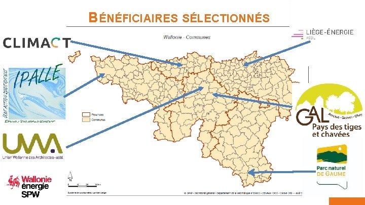 BÉNÉFICIAIRES SÉLECTIONNÉS Service public de Wallonie territoire logement patrimoine énergie 05/02/2019 7