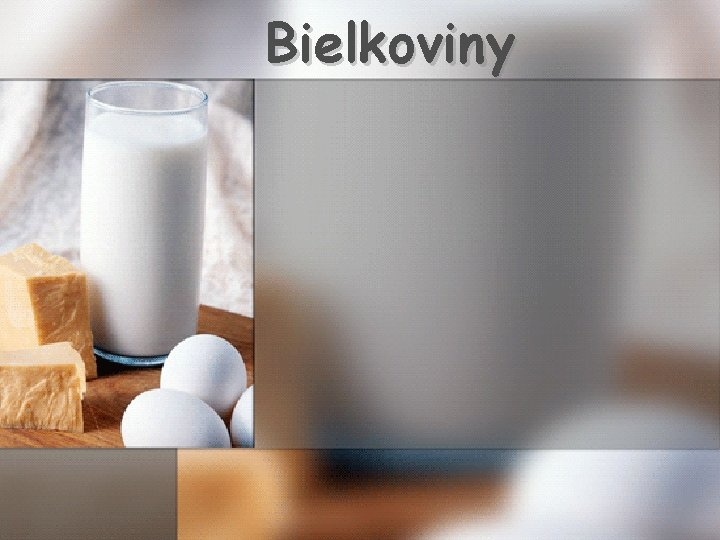 Bielkoviny
