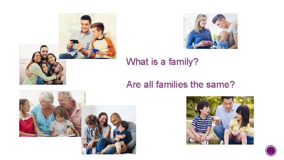 What is a family? Are all families the same?