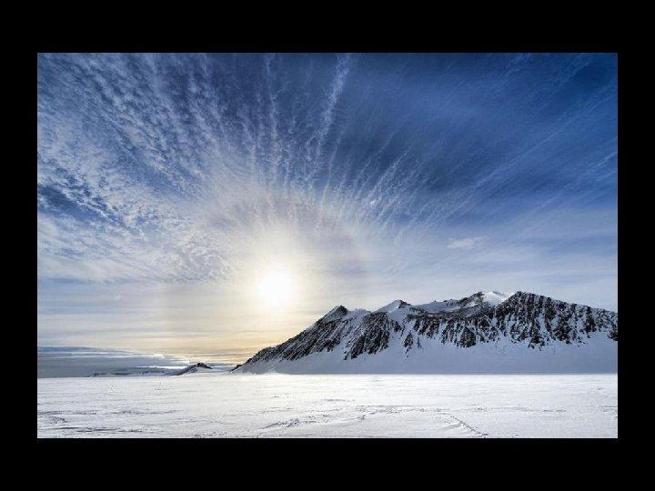 L'Antarctique est le plus grand désert du monde.