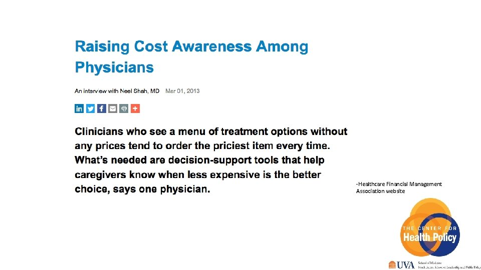 -Healthcare Financial Management Association website 22