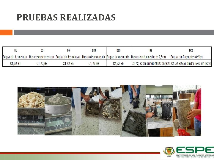 PRUEBAS REALIZADAS 12/03/2021
