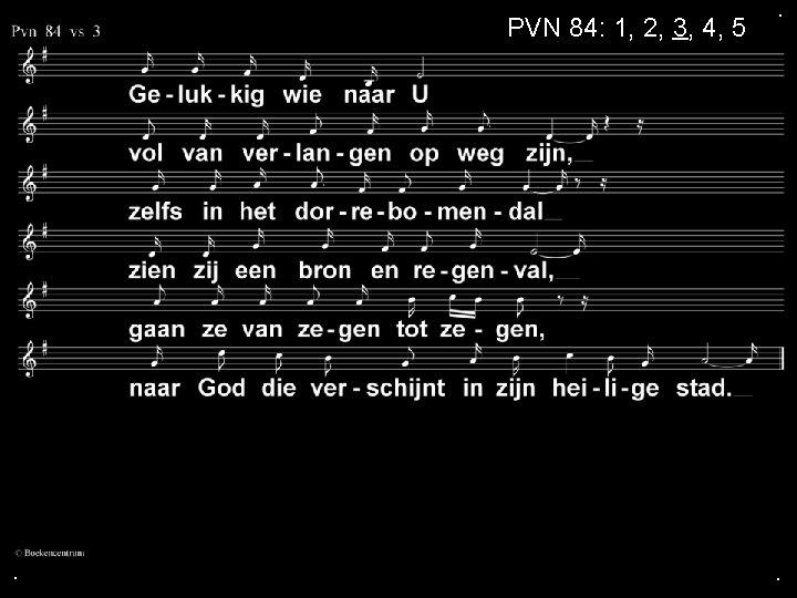 PVN 84: 1, 2, 3, 4, 5 . . .