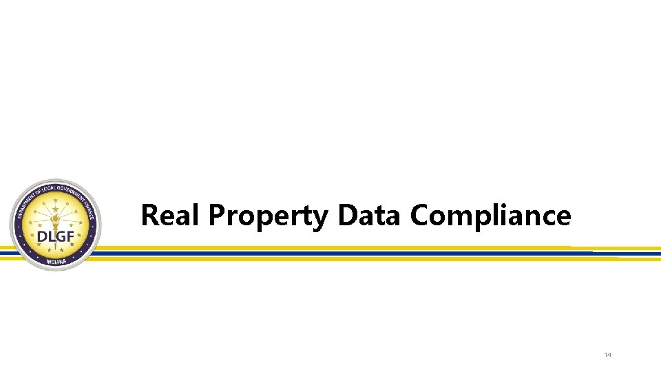 Real Property Data Compliance 14