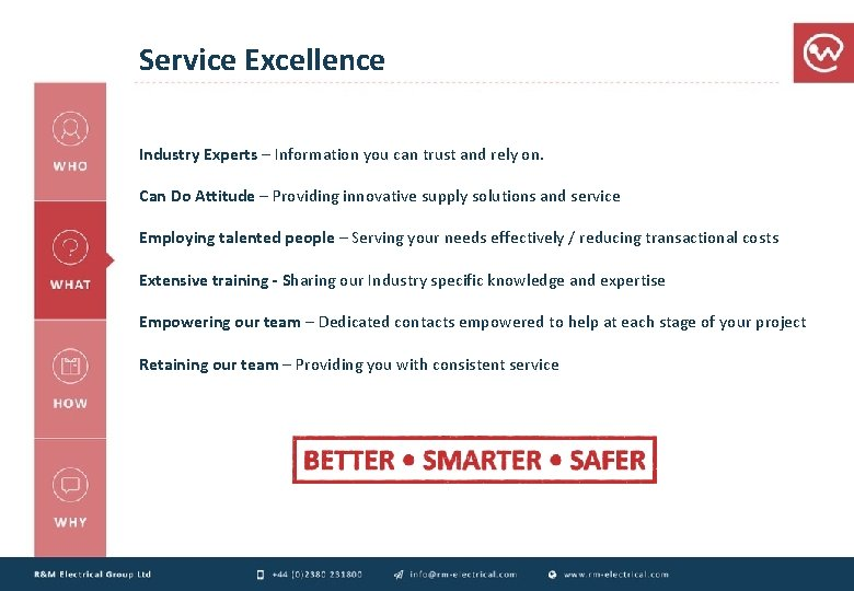 Service Excellence Industry Experts – Information you can trust and rely on. Can Do