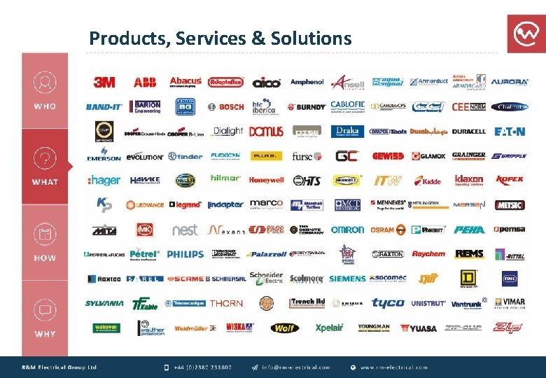 Products, Services & Solutions