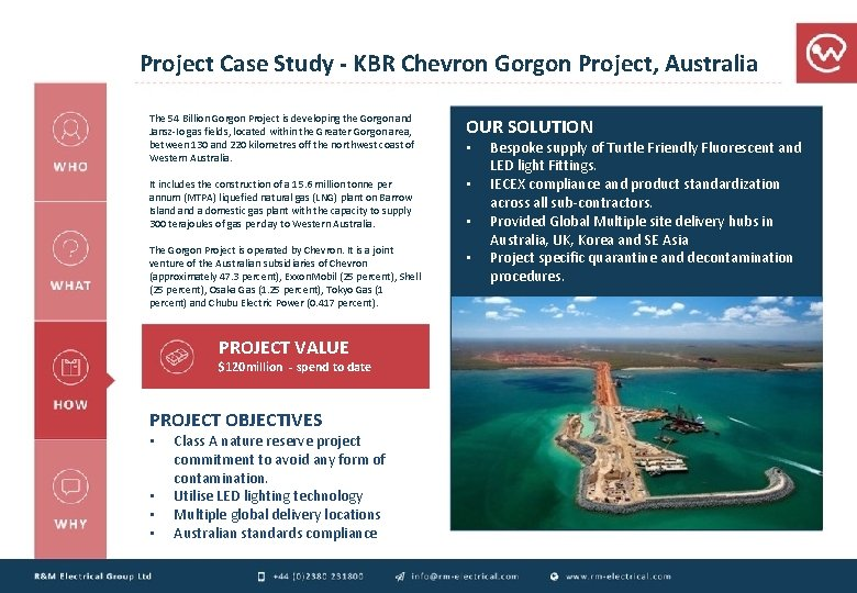 Project Case Study - KBR Chevron Gorgon Project, Australia The 54 Billion Gorgon Project