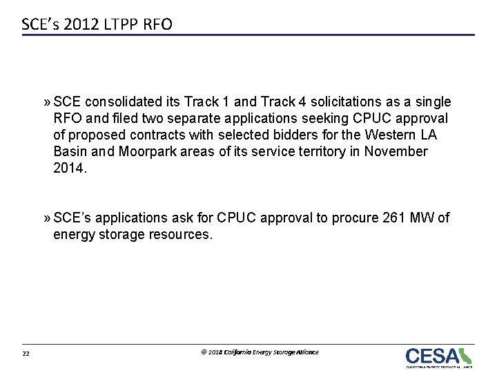 SCE's 2012 LTPP RFO » SCE consolidated its Track 1 and Track 4 solicitations