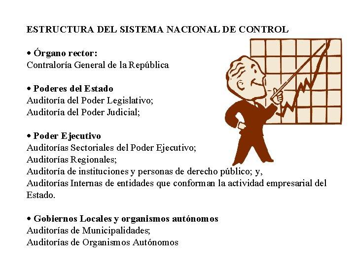 ESTRUCTURA DEL SISTEMA NACIONAL DE CONTROL · Órgano rector: Contraloría General de la República