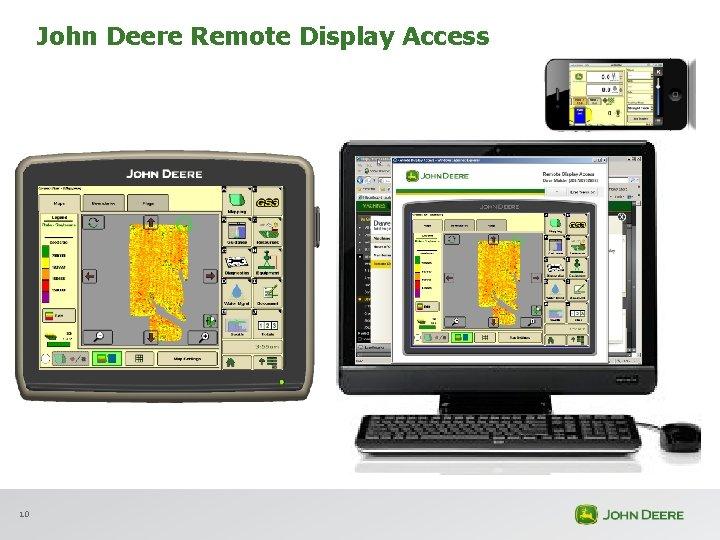 John Deere Remote Display Access 10