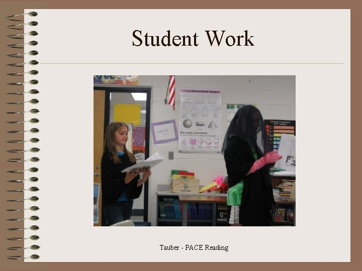 Student Work Tauber - PACE Reading