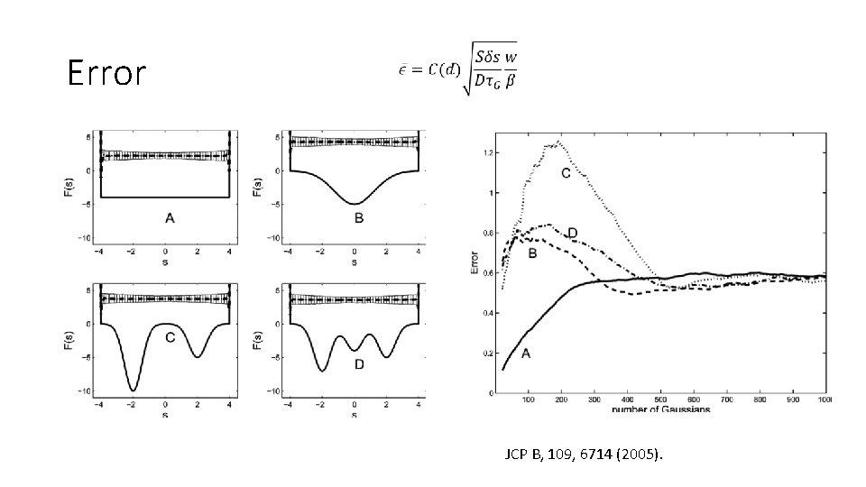 Error JCP B, 109, 6714 (2005).