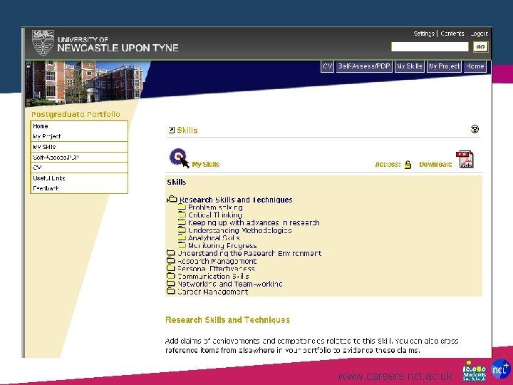 www. careers. ncl. ac. uk