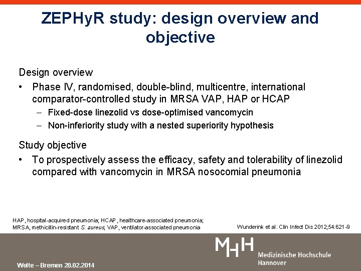 ZEPHy. R study: design overview and objective Design overview • Phase IV, randomised, double-blind,