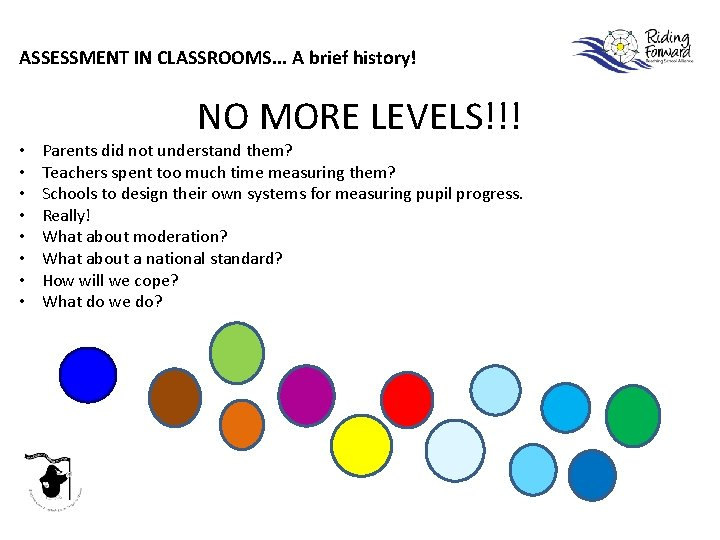 ASSESSMENT IN CLASSROOMS. . . A brief history! • • NO MORE LEVELS!!! Parents