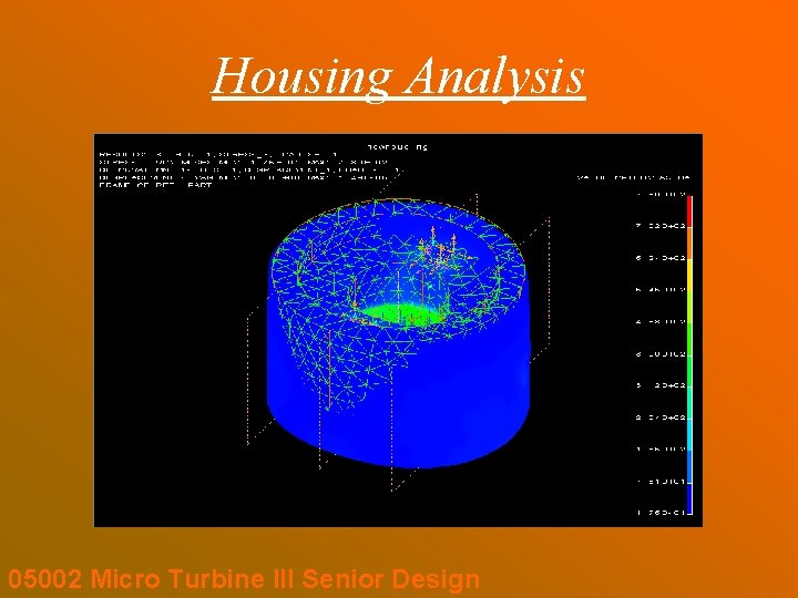 Housing Analysis 05002 Micro Turbine III Senior Design