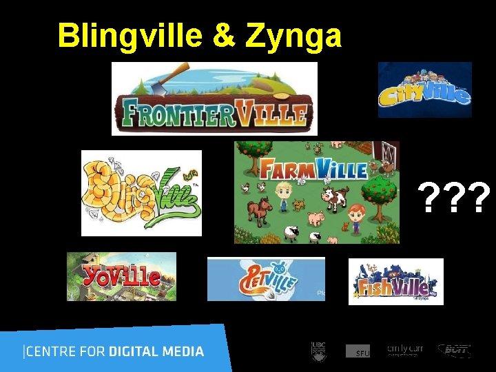 Blingville & Zynga ? ? ?