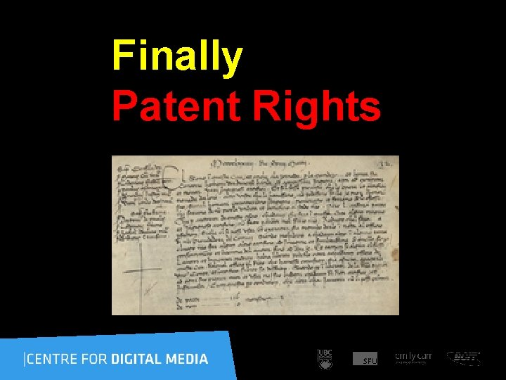 Finally Patent Rights