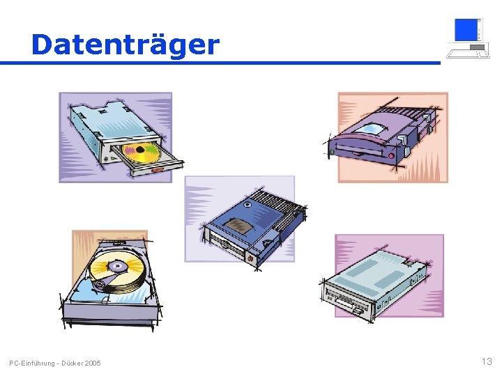 Datenträger PC-Einführung - Dücker 2005 13