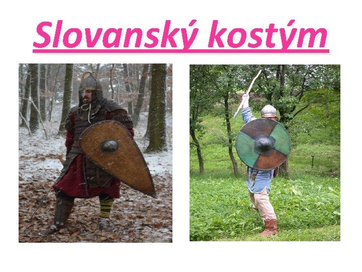 Slovanský kostým