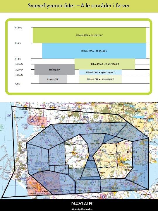 Svæveflyveområder – Alle områder i farver