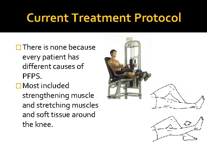 Current Treatment Protocol � There is none because every patient has different causes of