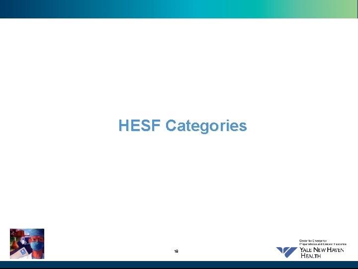 HESF Categories 18
